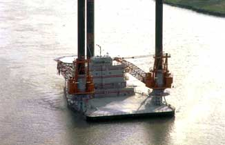 Seacor Marine Liftboat Power