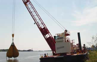 US Army Corps of Engineers Construction Barge Choctawhatchee