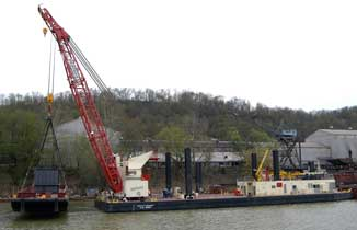 US Army Corps of Engineers Construction Barge Monallo 3